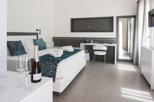 Habitación Doble Deluxe con terraza privada