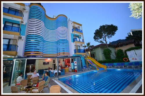 Icmeler Yade Hotel yol tarifi