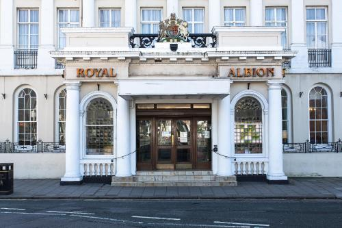 The Royal Albion Seafront Hotel picture 1 of 30