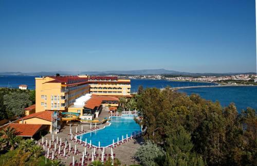 Ayvalık Halic Park Hotel ulaşım
