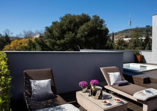 Attic Suite (1 or 2 people) ABaC Restaurant Hotel Barcelona GL Monumento 44
