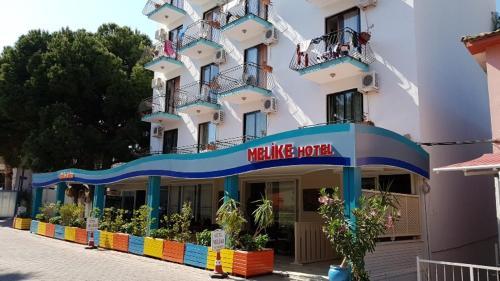 Kusadası Hotel Melike directions