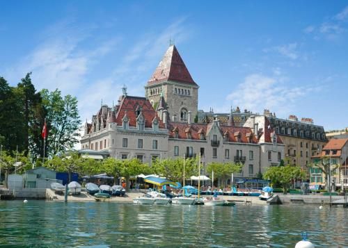 Château d'Ouchy - Hotel - Lausanne