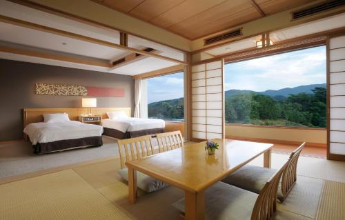 家庭间-带榻榻米区 - 禁烟 (Family Room with Tatami Area - Non-Smoking)