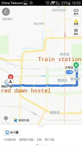 Red Dawn Hostel Hotel Xi\'an in China