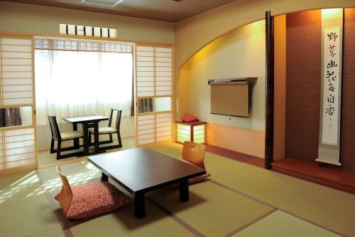Japanese-Style Triple Room with Private Shower and Toilet