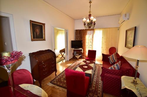 Classy 2 bedroom apartment under Acropolis at Thissio Immagine 3