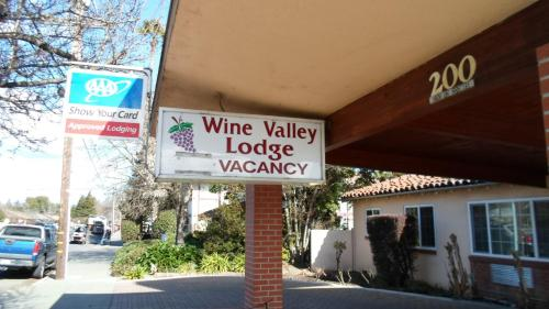 Wine Valley Lodge - Napa, CA CA 94559