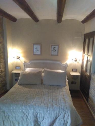Habitación Doble Estándar con vistas Hotel Real Posada De Liena 25