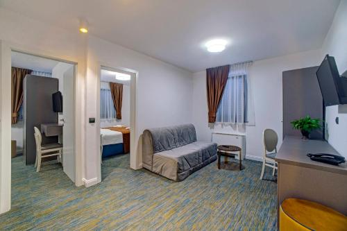 Hotel Skradinski Buk Апартаменты с 2 спальнями