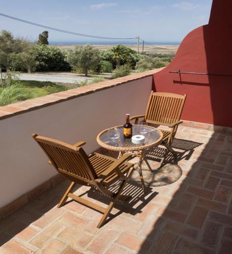 Doppel-/Zweibettzimmer mit Balkon und Meerblick Hotel Sindhura 46