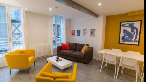 Bel appartement au coeur du centre historique - Location saisonnière - Bourges