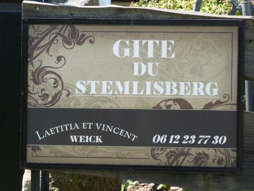Gîte du Stemlisberg - Apartment - Breitenbach-Haut-Rhin