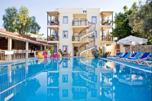 Bodrum City Merve Apartments adres