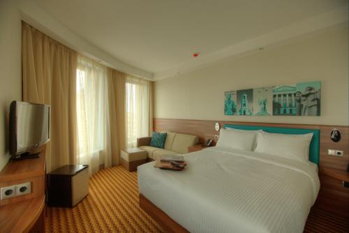 Фотография номера гостиницы Hampton by Hilton Воронеж