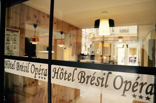 Hôtel Brésil Opéra impression
