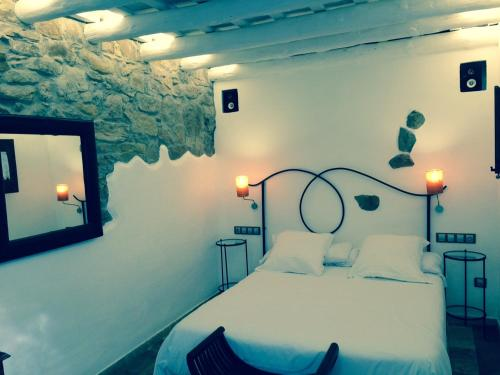 Small Double Room Hotel Galena Mas Comangau 9