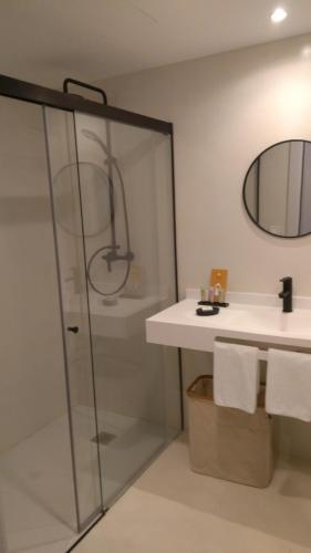 Doppel-/Zweibettzimmer mit Bergblick - Einzelnutzung IXUA hotela 14