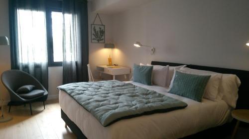 Doppel-/Zweibettzimmer mit Bergblick - Einzelnutzung IXUA hotela 15
