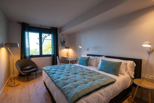 Doppel-/Zweibettzimmer mit Bergblick - Einzelnutzung IXUA hotela 11