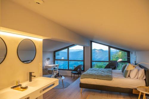 Suite con vistas a la montaña IXUA hotela 6