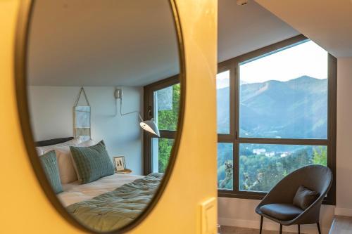 Suite con vistas a la montaña IXUA hotela 7