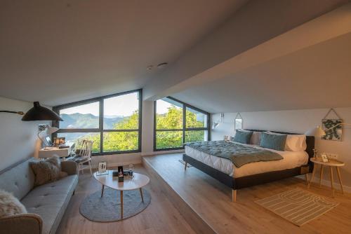 Suite con vistas a la montaña IXUA hotela 2