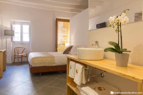 Habitación Doble - Uso individual Hotel Secrets Priorat 6