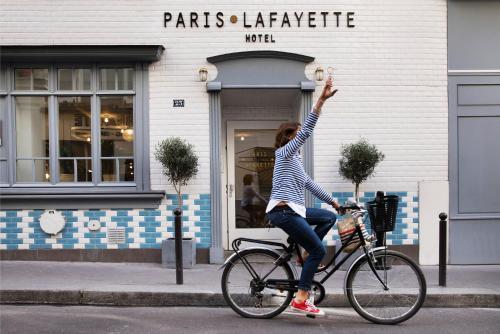 Hôtel Paris La Fayette photo 31