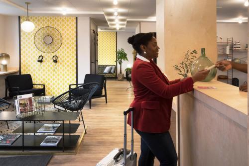 Hôtel Paris La Fayette photo 40