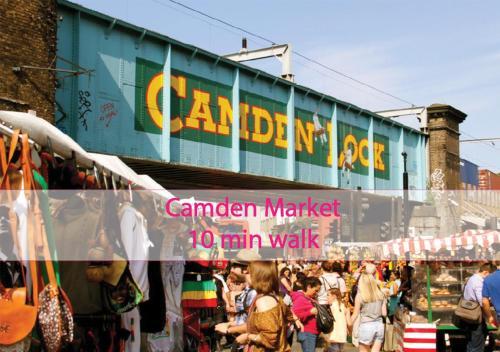 Sunshine Apartments - Camden Town.  Foto 3