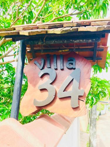 . VILLA No34 HIKKADUWA