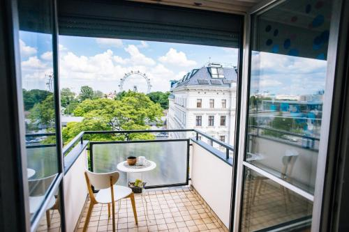 Apartment with View on Vienna Eye