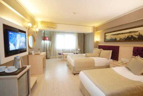 Istanbul Osmanbey Fatih Hotel harita