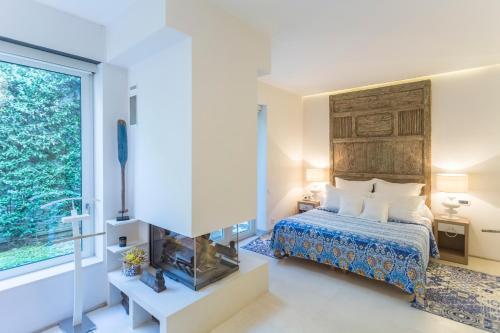 Suite exclusiva con chimenea privada Boutique Hotel Spa Calma Blanca 9