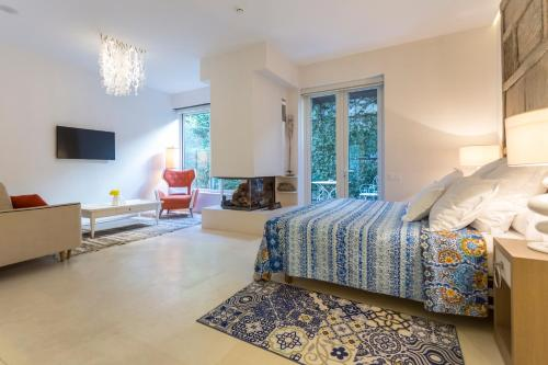 Suite exclusiva con chimenea privada Boutique Hotel Spa Calma Blanca 10