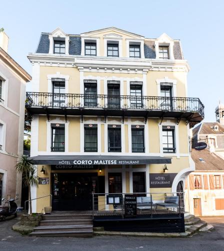 . Hôtel Restaurant Corto Maltese