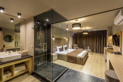 Club Level Designed Room