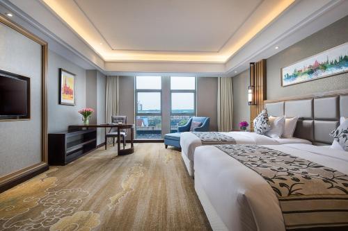 Ramada Shanghai East Двухместный номер Делюкс с 2 отдельными кроватями