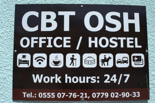 CBT Osh Tourist Info Office & Hostel