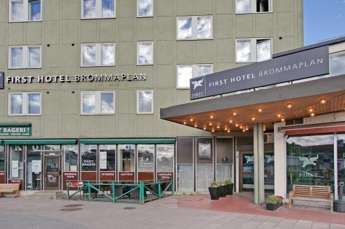 First Hotel Brommaplan photo 68