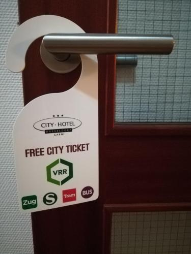 City Hotel Düsseldorf photo 36