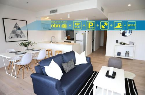 Chic Brisbane Living with superior facilities