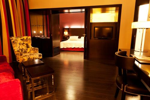 Junior Suite Hotel Boutique Gareus 6