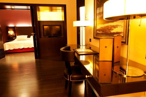 Suite Junior Hotel Boutique Gareus 12