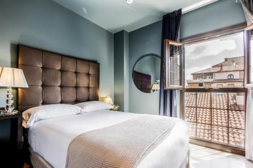 Habitación Doble para uso individual Pamplona Catedral Hotel 11
