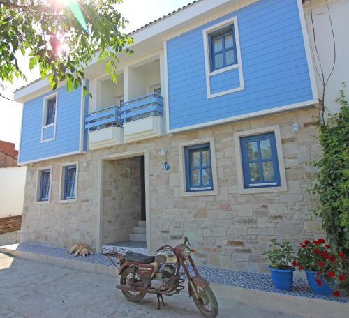 Bozcaada Sardunya Hotel odalar