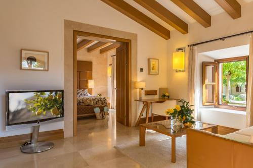 Suite con piscina privada Castell Son Claret - The Leading Hotels of the World 10