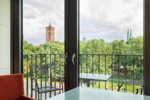 Radisson Blu Hotel, Berlin Улучшенный номер