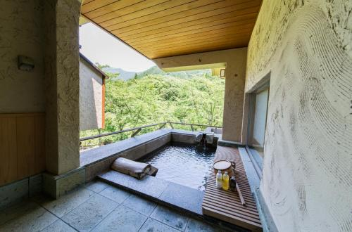 Japanese-Style Luxury Room with Open-Air Bath